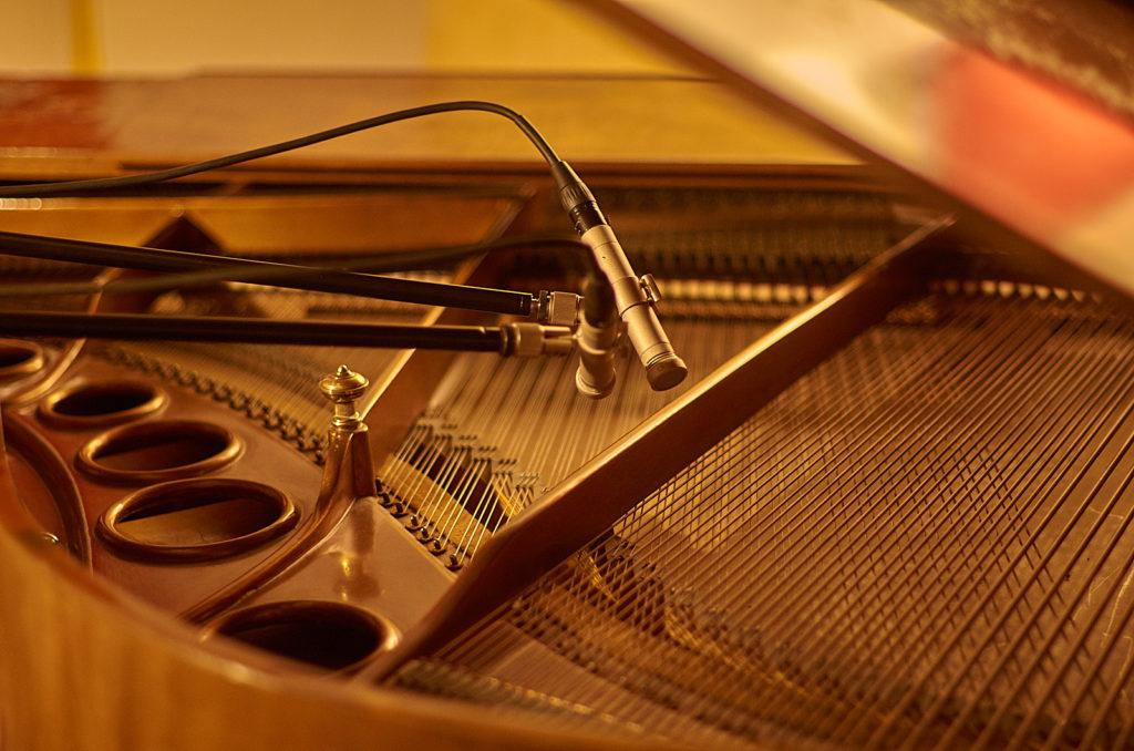 Enregistrement piano à domicile