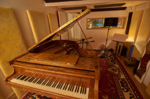 Studio Sonaye vu du plafond
